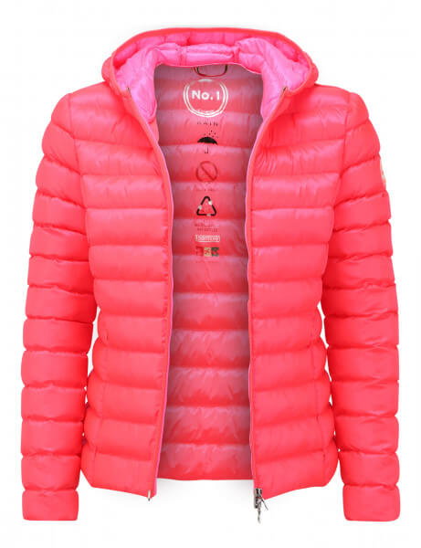 BERGEN • Regenjacke • Flash Red / Flash Pink