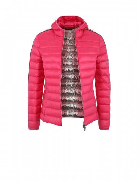 SARA • Daunenjacke • Pink Rosé Stripe