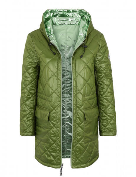 MATTIA • Wende-Daunenparka • Night Green Metallic