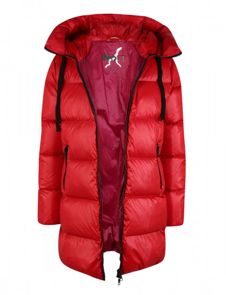 LEONIE • Daunenparka • Scarlet Red / Winter Berry
