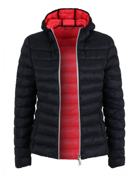 BERGEN • Regenjacke • Navy / Flash Red