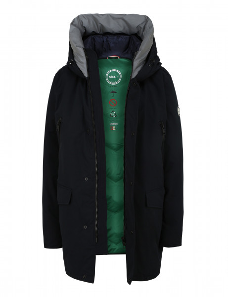 DAVOS 810 • Herren Winterparka • Navy / Snow Petrol
